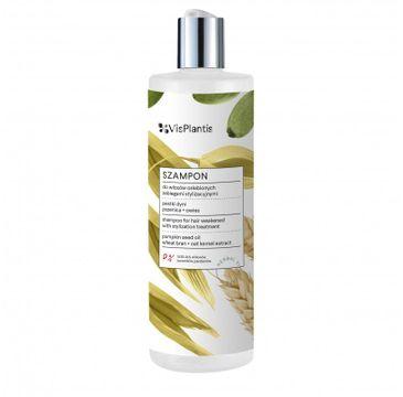 Vis Plantis Herbal Vital Care szampon do włosów osłabionych (pestki dyni-pszenica-owies) 400 ml