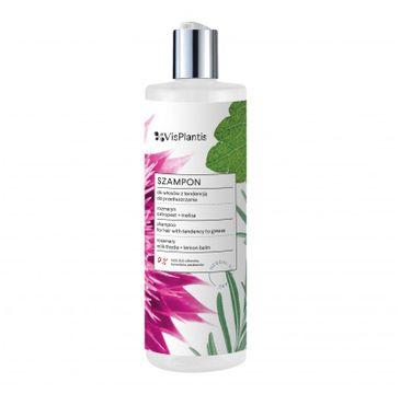 Vis Plantis Herbal Vital Care szampon do włosów z tendencją do przetłuszczania (rozmaryn-ostropest-melisa) 400 ml