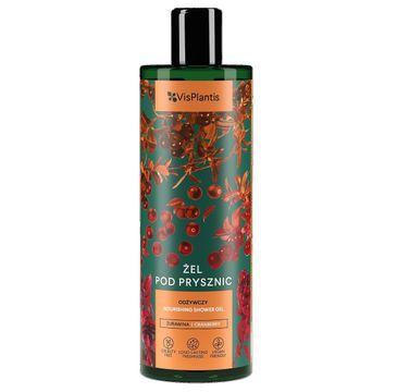 Vis Plantis Herbal Vital Care żel pod prysznic Żurawina-Malina Moroszka 400 ml