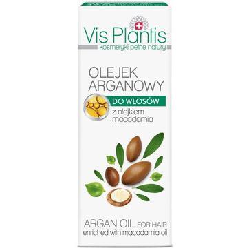 Vis Plantis olejek arganowy do każdego typu włosów 30 ml
