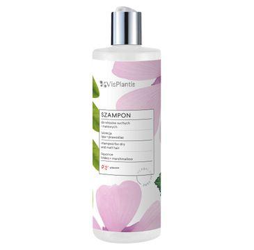 Vis Plantis Szampon do włosów suchych i matowych Lukrecja Lipa i Prawoślaz (400 ml)