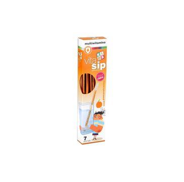 VitaSip – suplement diety multiwitamina Pomarańcza – słomki z witaminami do picia (1 op.)
