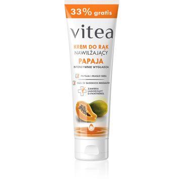 Vitea krem do rąk nawilżający papaja 100 ml