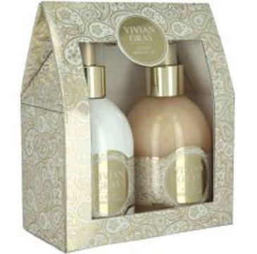 Vivian Gray Romance Sweet Vanilla zestaw Hand Lotion balsam do rąk 250ml + Cream Soap mydło w płynie 250ml