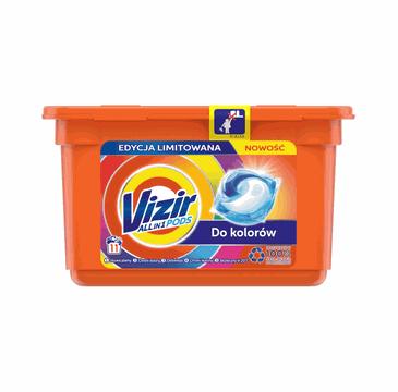Vizir Kapsułki do prania Color (11 szt.)