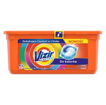 Vizir Allin1 Color Kapsułki Do Prania (27 szt.)