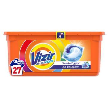 Vizir Allin1 Touch Of Lenor Color Kapsułki Do Prania (27 szt.)