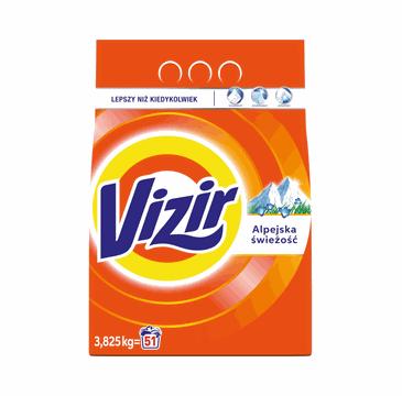 Vizir Proszek do prania białych tkanin Alpejska Świeżość (1.35 kg)