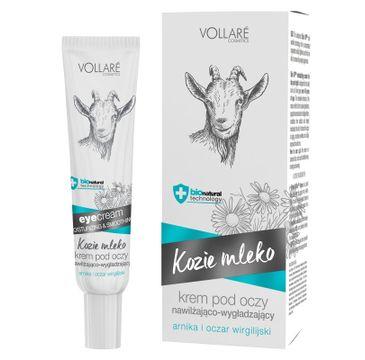 Vollare Cosmetics Kozie Mleko – krem pod oczy nawilżająco-wygładzający (15 ml)