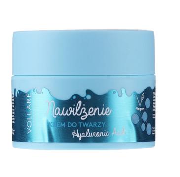 Vollare Cosmetics krem do twarzy nawilżający z kwasem hialuronowym na dzień i noc (50 ml)