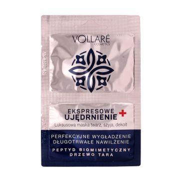 Vollare Cosmetics – Luksusowa Maska Ujędrniająca (2 x 5 ml)