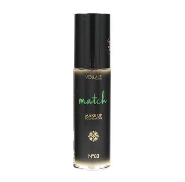 Vollare Cosmetics – Podkład przeciw niedoskonałościom Match nr 83 Medium Beige (30 ml)
