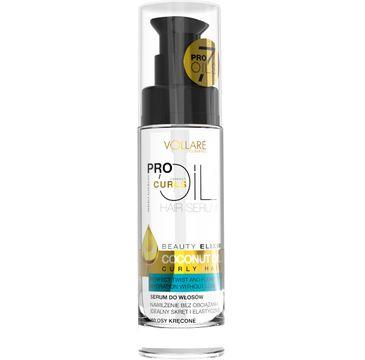 Vollare Cosmetics Pro Oils Perfect Curls serum do włosów kręconych coconut oil 30 ml
