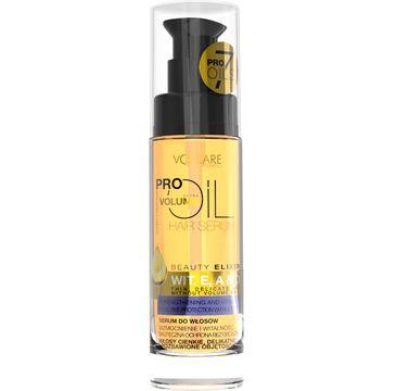 Vollare Cosmetics Pro Oils serum do włosów cienkich i delikatnych witaminy E A i D 30 ml