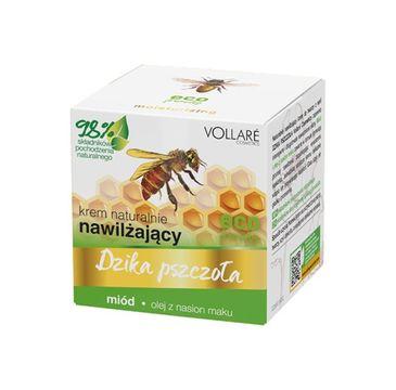 Vollare – Dzika Pszczoła Krem do twarzy nawilżąjący Miód-Olej z nasion maku (50 ml)