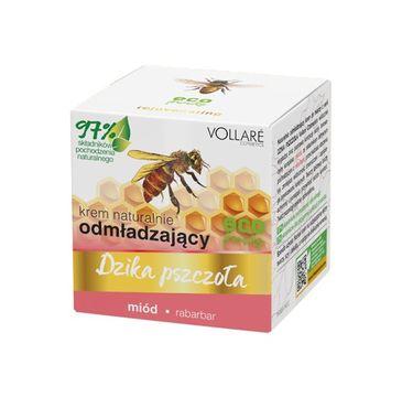 Vollare – Dzika Pszczoła Krem do twarzy odmładzający Miód-Rabarbar (50 ml)