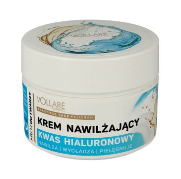 Vollare krem do twarzy nawilżający z kwasem hialuronowym na dzień i noc 50 ml