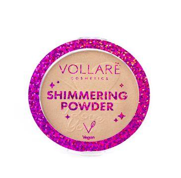 Vollare Shimmering Powder puder rozświetlający (8 g)