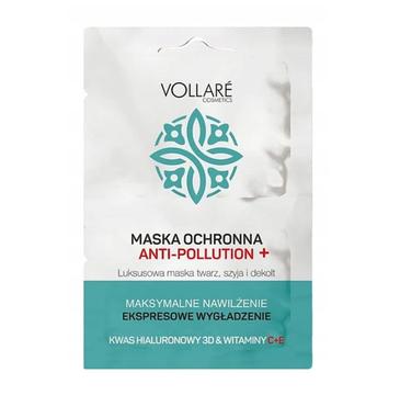 Vollare Cosmetics – Nawilżająca maska anti-pollution (2 x 5 ml)