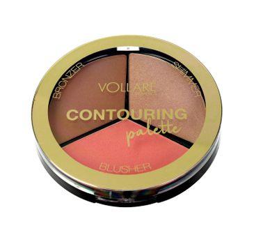 Vollare Cosmetics Countouring Palette Paletka do konturowania twarzy (1 szt.)