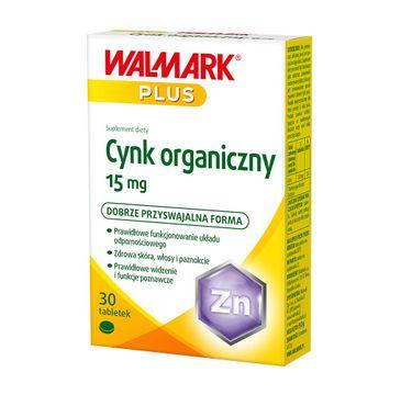 Walmark Cynk organiczny 15mg suplement diety (1 op.)