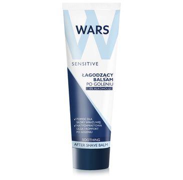 Wars Sensitive balsam po goleniu łagodzący 100 ml