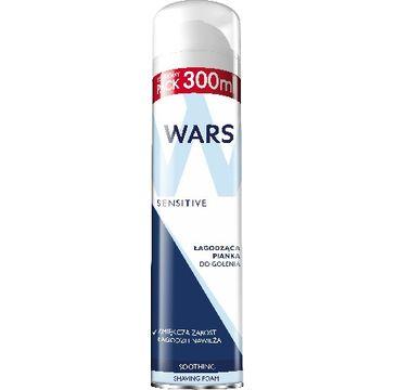 Wars Sensitive pianka do golenia łagodząca 300 ml