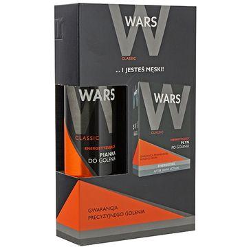 Wars zestaw prezentowy dla mężczyzn Classic pianka do golenia 300 ml płyn po goleniu 90 ml