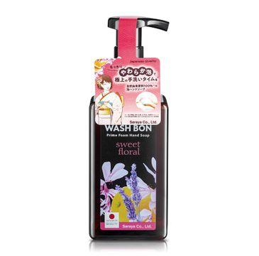 Washbon – Prime Foam Hand Soap oczyszczająco-relaksująca pianka do mycia dłoni Sweet Floral 450ml