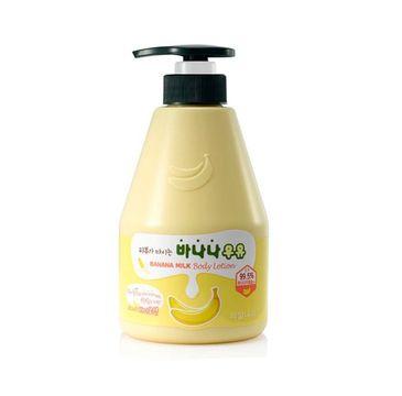 Welcos Banana Milk Body Lotion bananowe mleczko do pielęgnacji ciała (560 g)