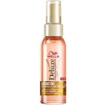Wella  Deluxe Light Oil Normal Hair lekki olejek do włosów normalnych (100 ml)