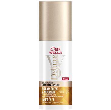 Wella Deluxe Lotion Dream Silk & Nourish nawilżający lotion w sprayu do stylizacji włosów (150 ml)