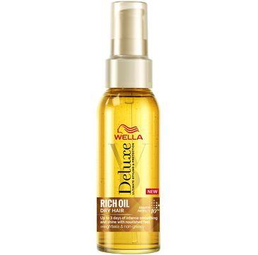 Wella  Deluxe Rich Oil Dry Hair bogaty olejek do włosów suchych i zniszczonych (100 ml)