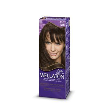 Wella  Wellaton Intense Permanent Color krem intensywnie koloryzujący 5/0 Light Brown 1szt