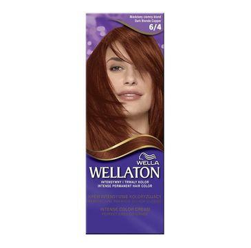 Wella  Wellaton Intense Permanent Color krem intensywnie koloryzujący 6/4 Miedziany Ciemny Blond 1szt