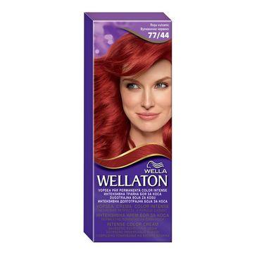 Wella  Wellaton Intense Permanent Color krem intensywnie koloryzujący 77/44 Wulkaniczna Czerwień 1szt