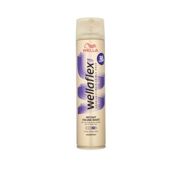 Wella  Wellaton Wellaflex Long Lasting Flexible Hold Hairspray dodający objętości lakier do włosów 4 Instant Volume Boost 400ml
