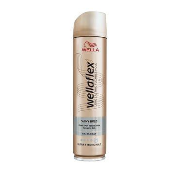 Wella  Wellaton Wellaflex Long Lasting Flexible Hold Hairspray Shiny Hold maksymalnie utrwalający lakier do włosów 5 Ultra Strong 400ml