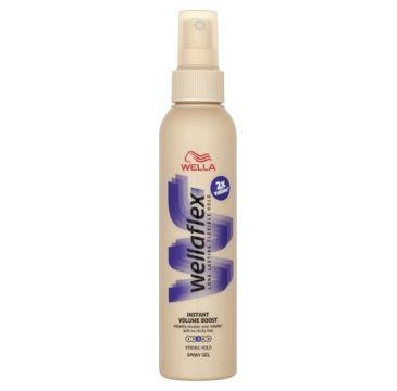 Wella  Wellaton Wellaflex Long Lasting Flexible Hold Instant Volume Boost Spray Gel żel do włosów w spray'u 3 Strong Hold 150ml