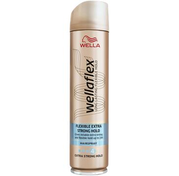 Wella Wellaflex Flexible Extra Strong Hold estra mocny lakier do włosów (250 ml)
