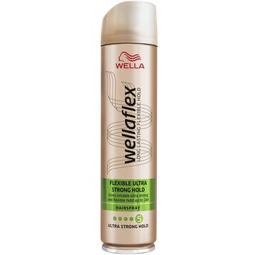 Wella Wellaflex Flexible Ultra Strong Hold lakier do włosów mega mocny (250 ml)