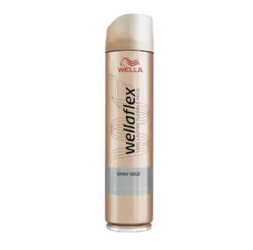 Wella Wellaflex Shiny Hold Ultra Strong lakier do włosów (250 ml)