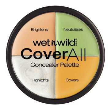 Wet n Wild Cover All Concealer Palette paleta korektorów do twarzy 6.5g