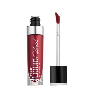 Wet n Wild Megalast Liquid Catsuit Metallic Lipstick metaliczna pomadka do ust Life's No Pink-nic 5.7g