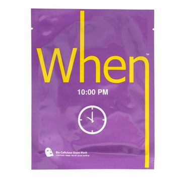 When – 10:00 PM maska regenerująca (1 szt.)