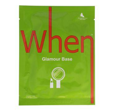 When – Glamour Base maska wygładzająco-ujędrniająca (1 szt.)