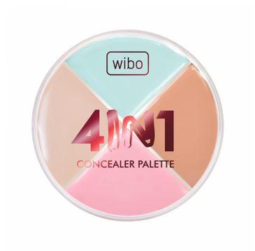 Wibo 4in1 Concealer Palette korektor do twarzy 15.5g