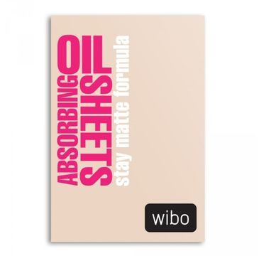 Wibo Absorbing Oil Sheets bibułki matujące 40szt