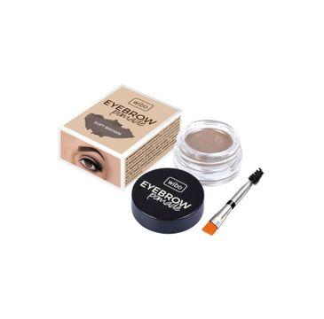 Wibo Eyebrow Pomade wodoodporna pomada do brwi 1 Soft Brown (6 g)