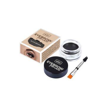 Wibo Eyebrow Pomade wodoodporna pomada do brwi 3 Black Brown (6 g)